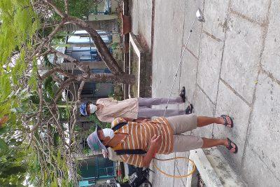 Công tác vệ sinh, khử trùng phòng ngừa dịch bệnh Corona tại trường
