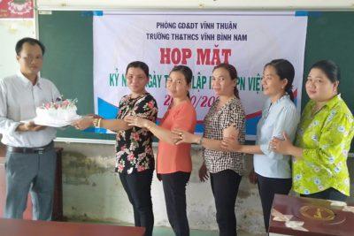 Họp mặt ngày phụ nữ Việt Nam 20.10.2020